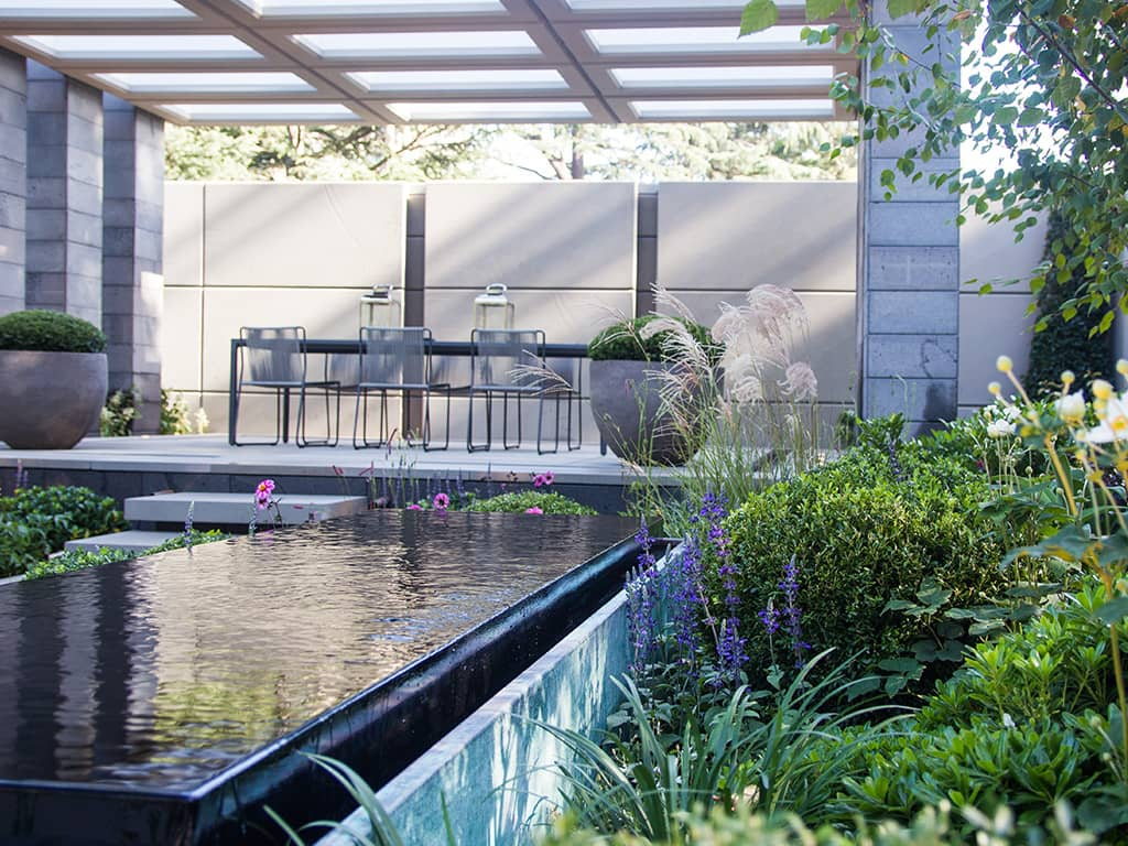 Melbourne International Flower & Garden Show Charlie Albone Inspired Exteriors