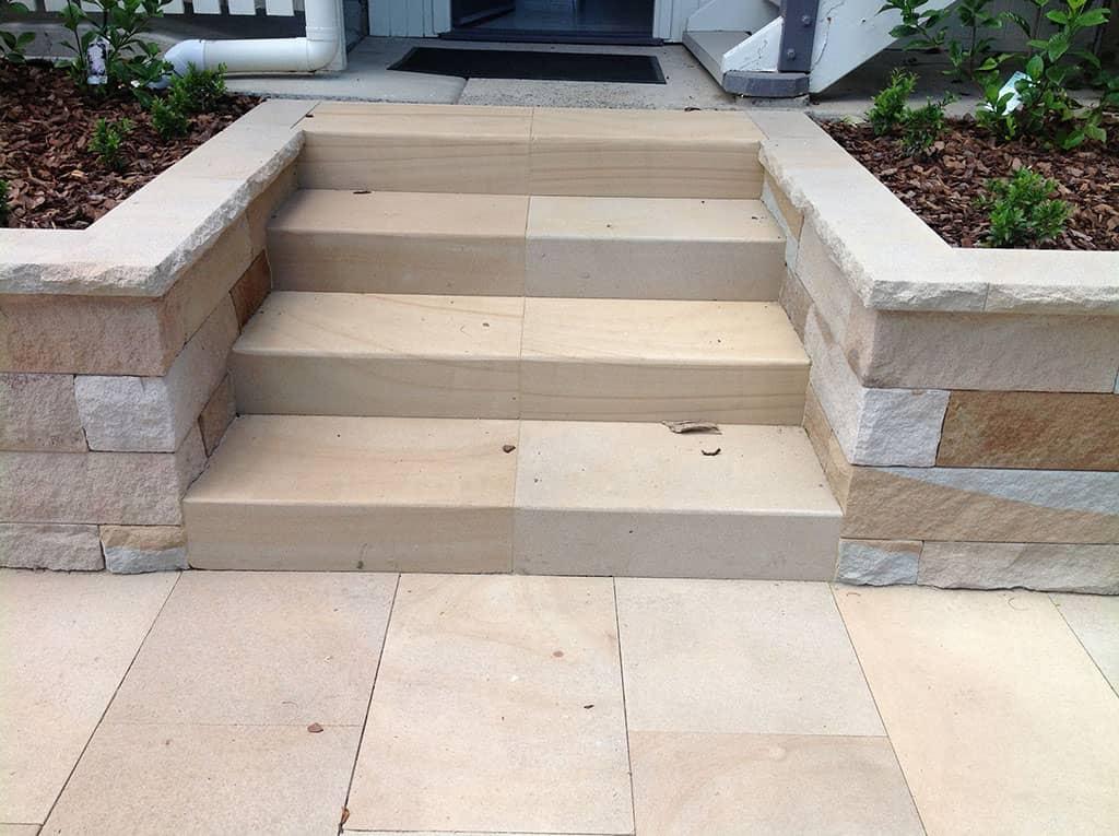 sandstone treads