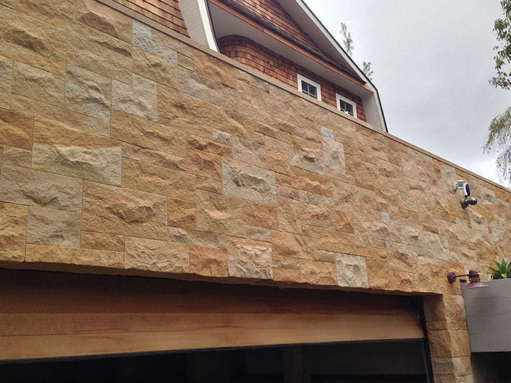 pearl beach sandstone split walling