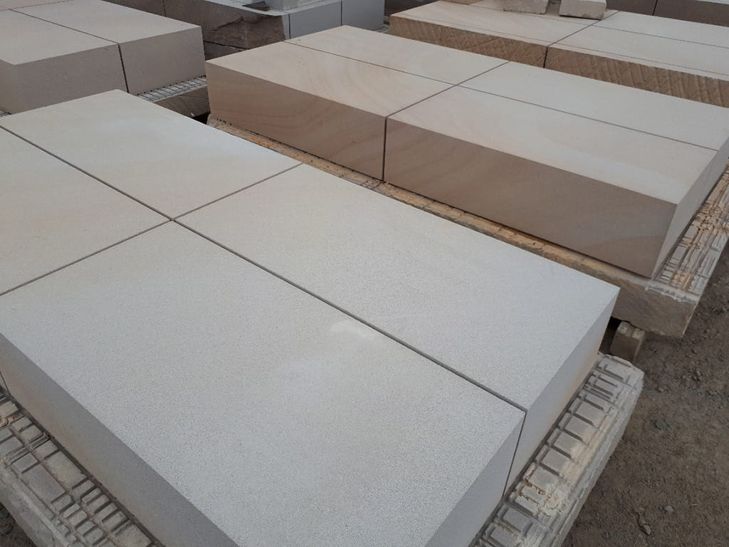 sandstone block cut custom