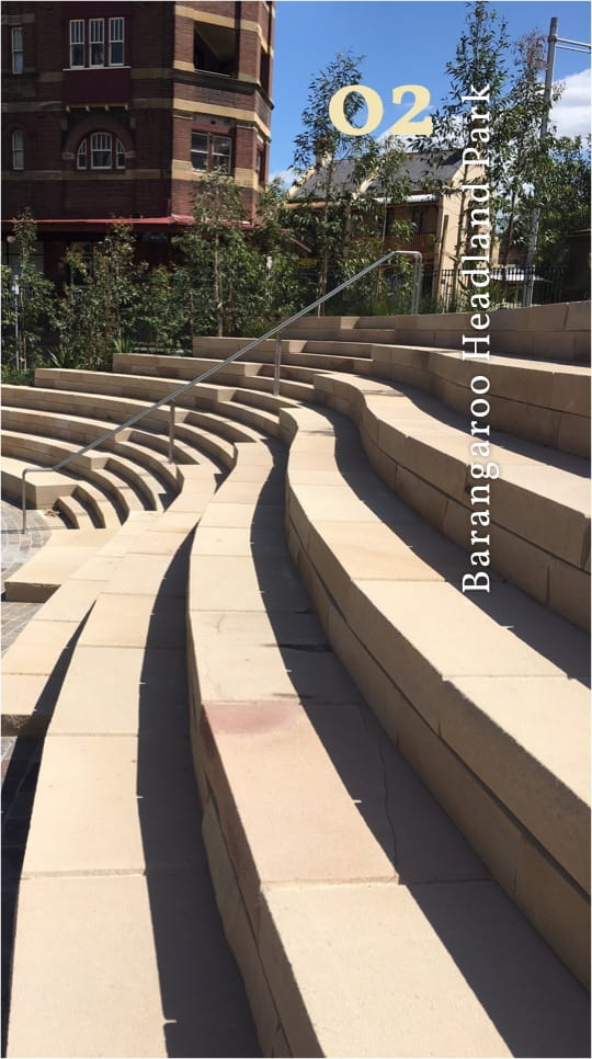 sandstone steps project