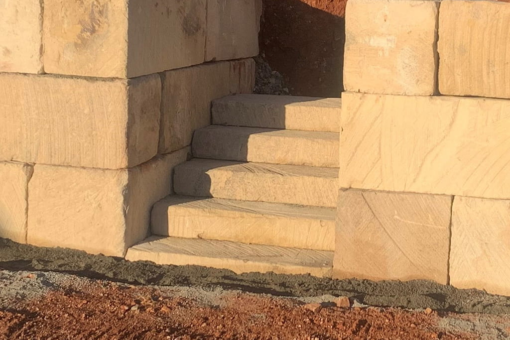 Quarry Sawn Steps