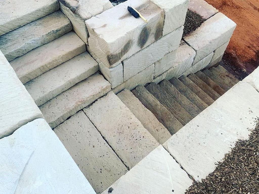Quarry Sawn Steps