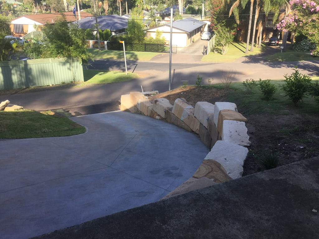 Square Cut Boulders B Grade